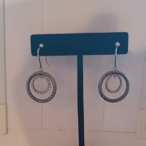 David Yurman Diamond mobile earrings